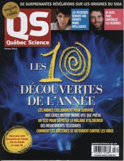 Québec Science février 2012