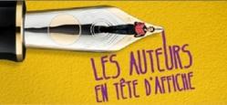 Salon du livre 2012- Auteurs à l'affiche