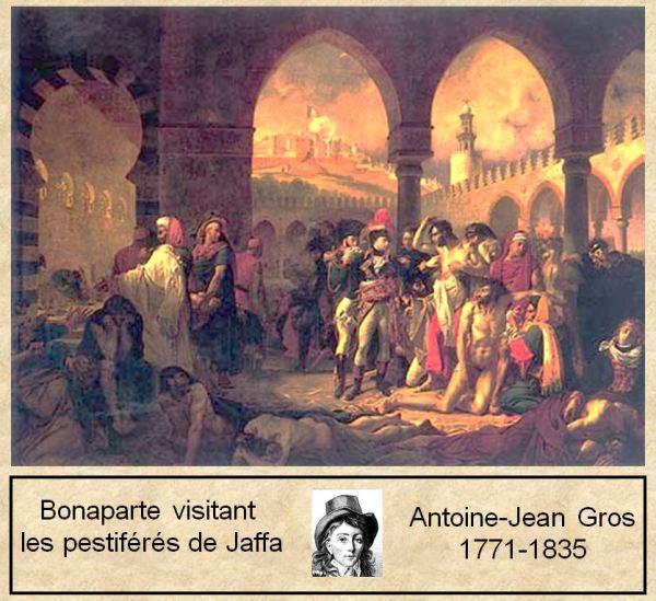 Napoléon visitant les pestiférés de Jaffa_A-J Gros