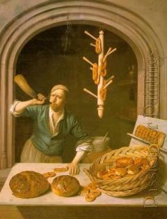 Le boulanger de J.A. Berckheyde