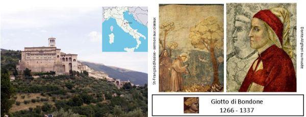 St-Francois d Assise et Giotto