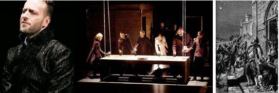 Hamlet au Théâtre de la Bordée