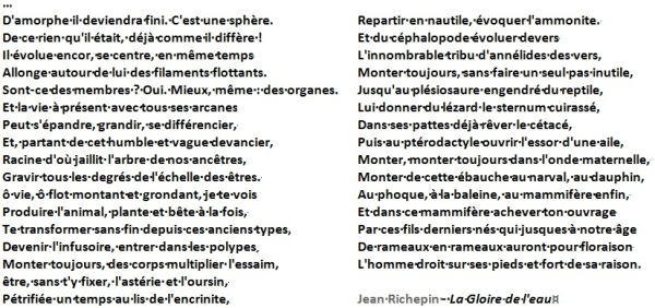 Poème de Jean Richepin