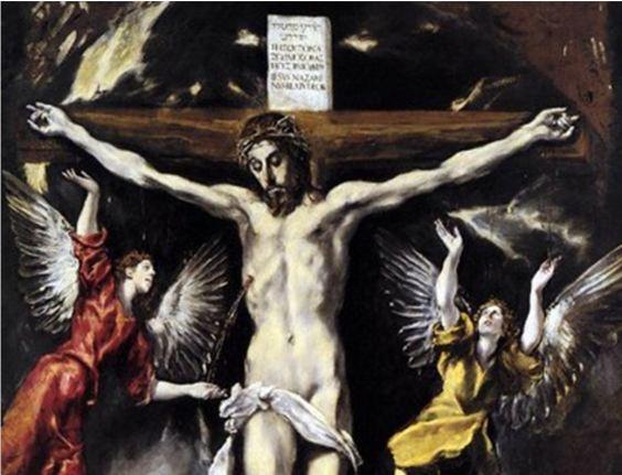 Crucifixion détail El Greco