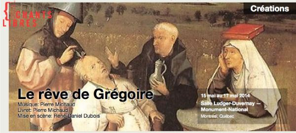 Le rêve de Grégoire de P.Michaud