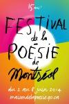 Festival de la Poésie 2014