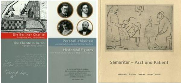 Livres au Musée d'histoire de la médecine à Berlin