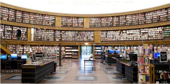 Bibliothèque oublique de Stockholm