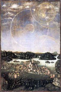 Parhélie de 1535 à Stockholm