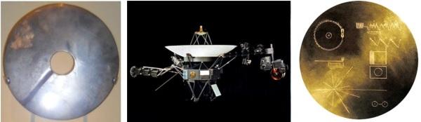 Disque bi du MBAM_Voyager_Golden Record de la NASA