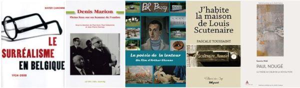 Livres sur les Surréalistes Belges