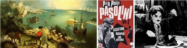 Bruegel_Pasolini_Chaplin dans le film de J.Nossiter