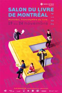 Salon du livre 2014 affiche