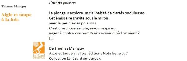 Poème de Thomas Mainguy