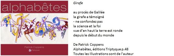 Poème de Patrick Coppens