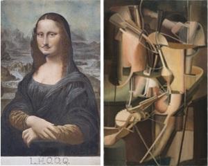 Duchamp à Pompidou_LHOOQ_La Mariée