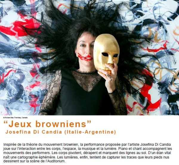 jeux browniens de Josephina di Candia