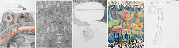 Art Brut à Gugging Coll. Decharme et Stadshof