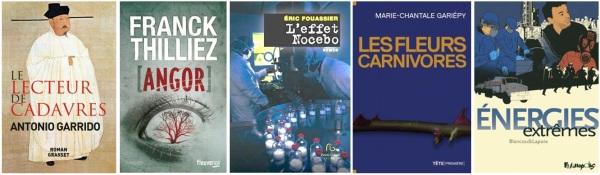 Romans et BD scientifiques 2014