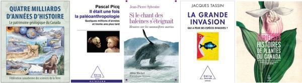 Livres Géologie Botanique et  Zoologie 2014