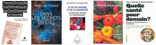 Livres de sciences 2014