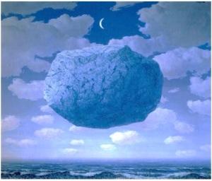 Magritte - La fèche de Zénon