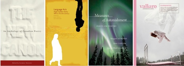 Canadian poetry books