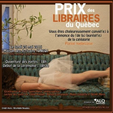Prix des Libraires 2015