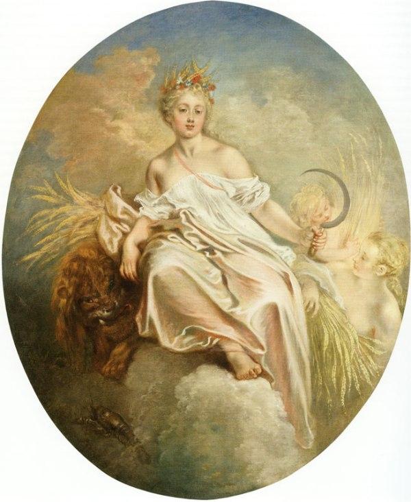 Cérès d'Antoine Watteau