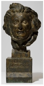 Adam Mickiewicz par Bourdelle