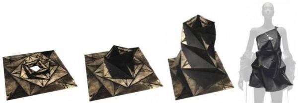 Issey Miyake origami dress