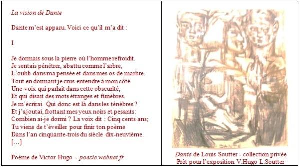 Victor Hugo/Louis Soutter par Julie Borgeaud