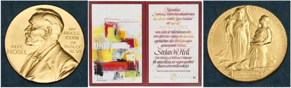 Nobel diploma de Stefan H.Well 2014