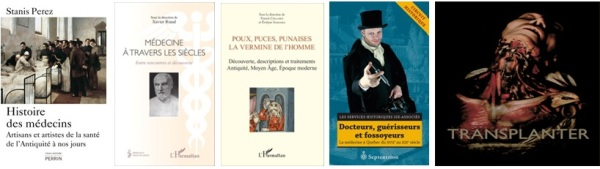 Livres 2015 Histoire de la médecine