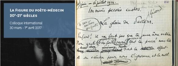 Figure Du Poète Médecin 20e Et 21e A R T S S C I E N C E S